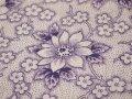 ジャーマンファブリック 紫