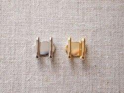 画像1: 小さな帯留め金具 四分紐用