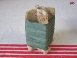 画像1: 立体糸巻き グリーン