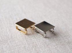 画像2: 小さな帯留め金具 四分紐用