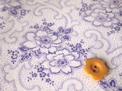 画像1: ジャーマンファブリック 紫  ギフトボックス柄