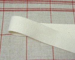 画像1: 杉綾綿テープ 生成り 厚さ1mm